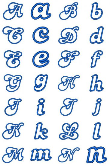 """: Fancy Fonts Embroidery, Home of the ORIGINAL """"Trendy Dots"""" Font"""