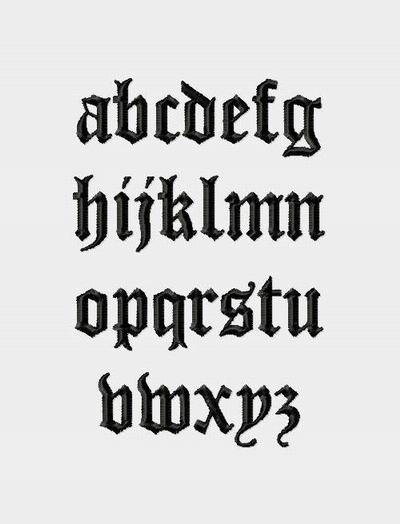 Worksheets Fancy Font Alphabet Lower Case victorian heirloom monogram lowercase letters fancy fonts click image to close