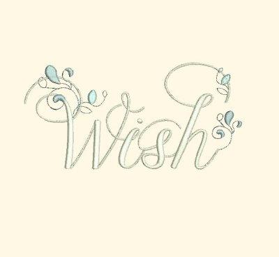 Wish - Inspirational Word Art - $3.99 : Fancy Fonts Embroidery, Home Home Word Art Designs Embroidery on word art buttons, word art printables, word art rubber stamps, word art home, word art flowers, word art jewelry, word art sewing, word art wedding, word art t shirts, word art cross stitch, word art appliques, word art gifts, word art drawing designs, word whim, word art crochet, word art embroidery software, buffalo designs, word art craft,