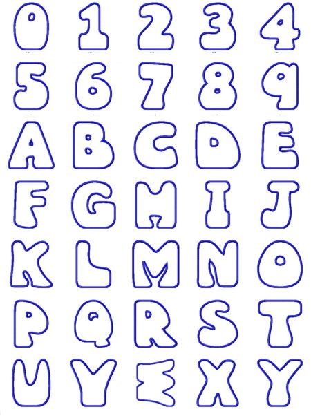 Wobbles Applique Alphabet Plus BONUS font! - $19.99 ...