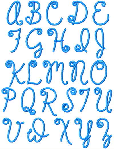 Fancy Alphabet Letters Lowercase